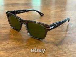Persol Men's Sunglasses PO3269S Opal Smoke / Light Green