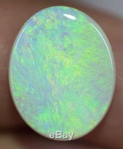 Solid Natural Australian Light Opal 8.30ct Lightning Ridge gem LOB170318