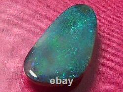 Sparking Pinfire Gorgeous Colour Pattern Natural Solid Black Opal 1.64 carat