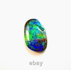 Stunning Natural 15.16 Ct. 25x15 mm Queensland Solid Boulder Opal