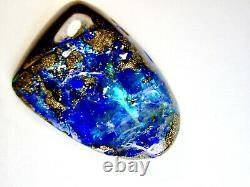 Very Big 42x31 mm Natural Solid 73.72 Ct. Queensland Boulder Opal