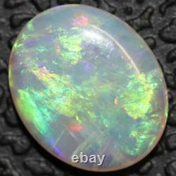 0.63 Cts Crystal Opal Cabochon, Australian Solid Cut Loose Gem Stone, Foudre