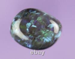 0.8ct Gorgee Gren Blue Genuine Lightning Ridge Solide Crystal Opal Gem A335