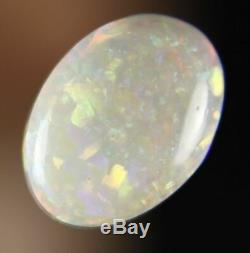 0.8ct Splendide Rouge Vert Véritable Lightning Ridge Cristal Solide Opal Gem A303