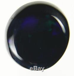 0.8ct Vert Rouge Bleu Flashy Véritable Lightning Ridge Solid Black Opal Gem A213