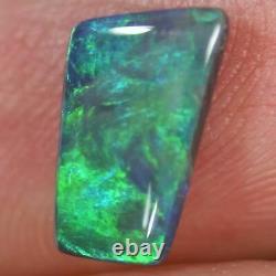 1.01 Cts Australien Noir Solid Opal, Lightning Ridge Cmr