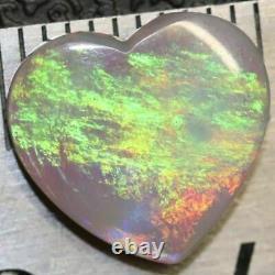 1,85 Cts Australian Semi Black Opal, Solide South Australia Cabochons, Lâche Pierre