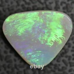 1.99 Cts Australien Lightning Ridge, Semi Black Solid Opal, Cabochon Loose Stone
