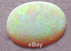 11.73 Cts. Cabine Ovale Opale Australienne Massive. (18,4x14,2x6 Mm) Dessus Plat