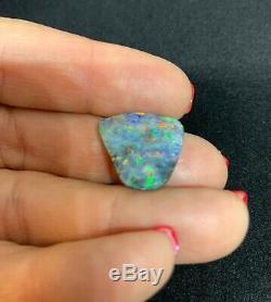 12,5 Carats Solide Boulder Opal Blues & Greens # 2