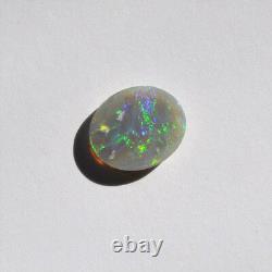 12x10mm 2.33ct Lightning Ridge Semi Black Opal Solid Natural Australian Loose