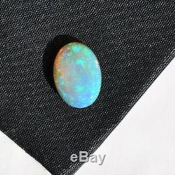 15x10mm 4.16ct Australian Crystal Light Opal Naturel En Vrac Solide Pierre Cabochon