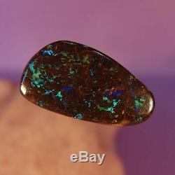 17.11 Carats Vert Vert Solide Qld Boulder Opal 4196