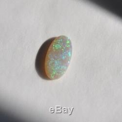 18x9.6mm 4.78ct Lightning Ridge Australie Semi Crystal Opal Naturel En Vrac Solide