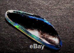2.1 Ct Australien Skinny Shell Cristal Opale Solide 20x8mm (aow 1811)