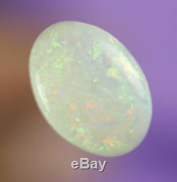 2.3ctwow Rouge Superb Flashy Green Ridge Foudre Lait Solid Opale Gem Ab179