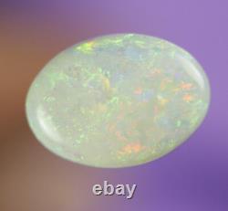 2.3ctwow Superb Green Flashy Lightning Ridge Solide Polype Gem Ab179