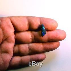 2.77ctw Belle Vert Et Bleu N1 Naturel Solide Noir Opal Australien 3248