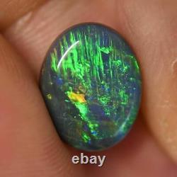 3.00 Cts Australien Solid Opal, Pierre Gemme Solide, Lightning Ridge