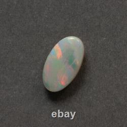 3.5ct Solide Australien Naturel Coober Pedy Opal Beau Motif Orange Vert