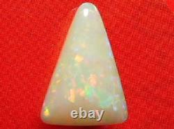 3.8carat Étincelles De Bonne Qualité Gorgeous Beautiful Solid Coober Pedy White Opal