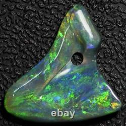 4.04 Cts Australian Solid Opal Carving, Lightning Ridge Cmr
