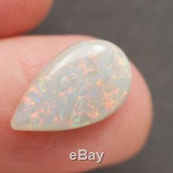 4.75ct Australian Natural Opal Solide Rouge Vif Citron Vert Confetti Motif
