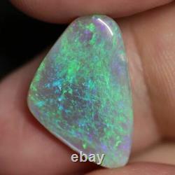 5.48 Cts Australian Lightning Ridge, Semi Black Solid Opal