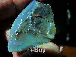 85.5 Ct Éclairage Solide Ridge Couture Verte Opale À Partir D'un Miners Hoard