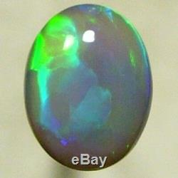 Atc6205 Semi Solide Noir Opal Propre Feu Lumineux