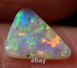 Australian Coober Pedy Crystal Solid Opal 8.5x7x1.7 MM 0.63 Ct