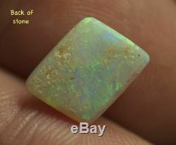 Australian Crystal Opal Rouge Naturel Vert Solid Flash Bijouterie Pierre 99centopal
