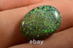 Australian Genuine Andamooka Solid Opal 4.83 Cts Prêt À Mettre Dans Un Anneau