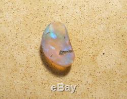 Australian Lightning Ridge Cristal Opal Solid 2.32ct Cut Pierre Bleu Vert (3155)