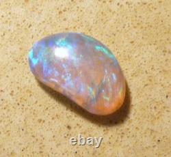 Australian Lightning Ridge Crystal Opal Solid Cut Stone 2.32ct Vert Bleu (3155)