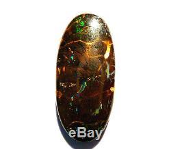 Australian Natural Boulder Opal Matrice Solide Pierre De Taille Vert Bleu 20ct (2339)