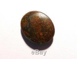 Australian Natural Boulder Opal Solides En Vrac En Pierre De Taille Verts / Bleus (2340)