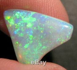Australian Natural Cristal Opale Solides Verts De Blues En Vrac Cut Bright Stone (1805)