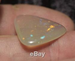 Australian Naturel Solide Jelly Opal Cut Pierre Bright Green Flash 99centopals