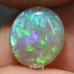 Australian Opal Lightning Ridge, Crystal Cabochons Solide Pierre 2.10 Cts
