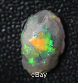 Australian Opal Lightning Ridge Solide En Vrac Rugueux Rubs 3,72 Cts