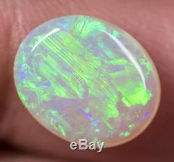 Australian Solide Lumière Naturelle Opale 4.11ct Joyau Lightning Ridge Lob171018