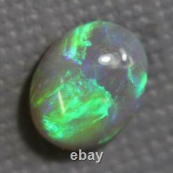 Australien L/ridge Solid Semi Black Opals Cabochon Pierre 1.75cts