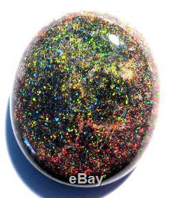 Australienne Andamooka Matrix Pierre Opale Massive, Pierre Rouge 19x16mm (2239)