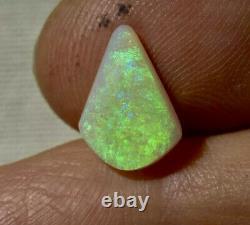 Big Bright Solid 2ct Australian Lighting Ridge Neon Green Crystal Opal 14x10mm