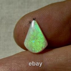 Big Bright Solid 2ct Australie Lighting Ridge Neon Green Cystal Opal 14x10mm
