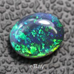 Black Opal Lightning Ridge Australien En Vrac Solide Stone, Cabochon 1,40 Ct