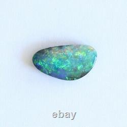 Boulder 1.38ct Opale 10,7 X 5,8 MM Massif Naturel Opale Australienne En Pierre Lâche Unset