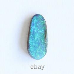 Boulder 2.08ct Opale 14,9 X 6 MM Massif Naturel Opale Australienne En Pierre Lâche Unset