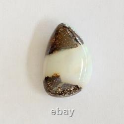 Boulder 8.30ct Opale 17,7 X 11mm Solide Australien Opale Naturelle Pierre Lâche Unset